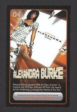 Alexandra Burke Star Zone Pop Music Card Look! from Germany