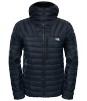 MEN'S NORTH FACE MORPH DOWN HOODED JACKET - SIZE 2XL (XXL) - BLACK - 800 FILL