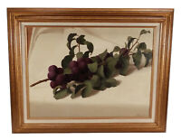 VINTAGE CHARLES GRIFFIN FARR FRUIT STILL LIFE OIL PAINTING LISTED CALIFORNIA ART