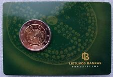 Litouwen 2 euro 2016 UNC coincard, Baltische kultuur
