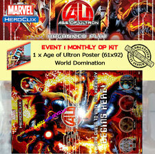 HEROCLIX AGE OF ULTRON EVENT 1 OP KIT - POSTER World Domination (61 x 92)