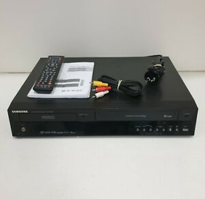 Samsung DVD-VR355 DVD Recorder VCR 6 Head Hi-Fi Stereo HDMI COPY VHS TO DVD