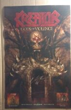 KREATOR Gods Of Violence Poster signed by Miland Mille Petrozza