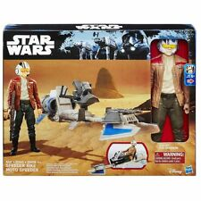 Star Wars  Speeder Bike with Poe Dameron Figure New in Box!
