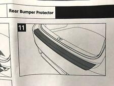 Lexus GS Rear Bumper Black protection moulding 06-2012>