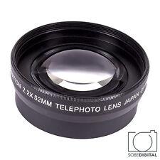 2.2X Tele Converter Lens FOR Canon EOS Rebel 500D KISS1 T3I T4I T5I T3 XS XSI T2