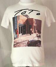 Toto 1986 Fahrenheit Japan Tour White Shirt Vintage Original