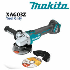 "Makita XAG03Z 18V LXT Li-Ion 4-1/2"" Cut-Off/Angle Grinder Tool w/ Guards & Wheel"
