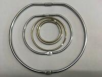 Large Jailers Fob / Keyring / Split Ring 50mm 58mm 75mm 100mm 150mm Rings