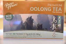 Prince of Peace Premium Oolong Tea 100 Tea Bags - US SELLER