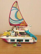 Lego friends Sunshine catamaran 41317 Boat Complete Figures Instructions
