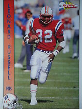 NFL 192 Leonard Russel RB Running Back Pacific 1992