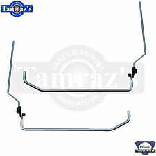 69-72 for GM A Body Door Lock Knob Threaded Shaft Rod Bellcrank Linkage L=R PAIR