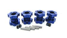 1/10 BRUSHLESS E-REVO 2.0 VXL Blue 17mm HEX NUTS wheel hubs Traxxas 86086-4