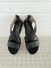 adrienne vittadini claud black women sport sandals size 8