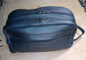 Leather Over Night Bag