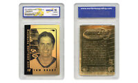 TOM BRADY 2004 Laser Line Gold Card NFL Graded GEM MINT 10 New England Patriots