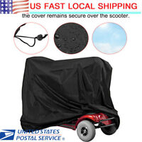 Mobility Scooter Storage Cover Wheelchair Waterproof Rain Protection 140CM USA