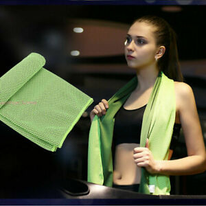 Absorbent Fitness Dry Cooling Sports Towel For Gym Exercise face Sweat Towels F
