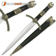 """13.5"""" King Arthur Medieval Historical Short Sword Dagger Knife Knight Scabbard"""