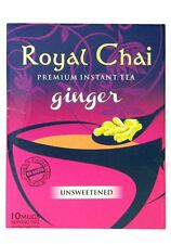 Royal Chai - Premium Instant Tea - Ginger (unsweetened) 180g x 2