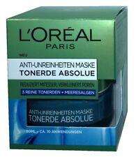 (1,99€/10ml)  L'Oréal Paris Tonerde Absolue Blaue Anti-Unreinheiten Makse 50ml