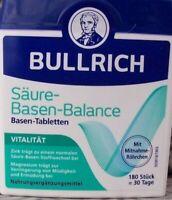 Bullrichs Säure Basen Balance Tabletten 180 St  Basentabletten Kapseln  neues