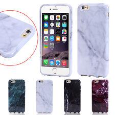 Marbre Texture imprimé TPU Silicone Coque Arrière étui pour iPhone 6S/6S Avec