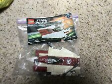 LEGO Star Wars A-wing Starfighter (6207) INCOMPLETE(?)