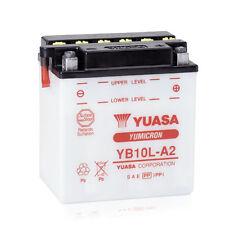 Batterie Yuasa moto YB10L-A2 KAWASAKI KZ250 CSR, LTD 80-83