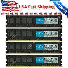 Crucial 32GB KIT 4X 8GB PC3L 1600MHz Dell OptiPlex 9010 9020 MT/DT/SFF Memory