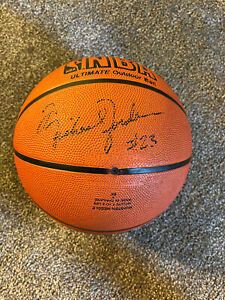Michael Jordan signed ball