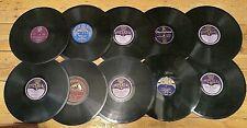 20 x GRAMOPHONE RECORDS - VINTAGE Imperial HMV Decca etc Bargain Price