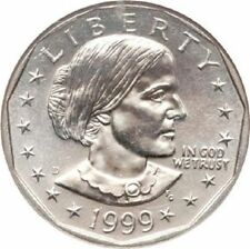 Susan B Anthony (1979 a 1981, 1999)