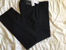 Banana Republic Modern Slim Fit Italian Wool Pants, Black, 30X30, NWT!, See Pics
