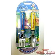 New Licensed Handy Manny Kitchen Cutlery Spoon & Fork Set Kids Tableware