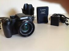 Camera Panasonic DMC-FZ5 Digital 12X Zoom Lumix Charger Battery Cable WORKS WELL