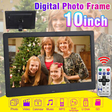 10''  Tft Fotorahmen Digitaler Bilderrahmen Videoplayer  MP4 Musik Video