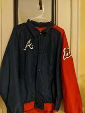 Atlanta Braves Vintage Starter Diamond Collection Jacket made in USA Size L