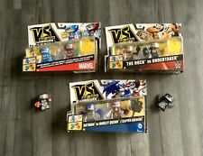 ❤️VS Rip Spin Warriors Bundle Undertaker Rock Batman Harley Quinn Marvel Ironman