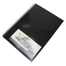 Spiral A3 Blank Plain 135gsm Sketch Art Book 50 Sheet Cartridge Paper Journal