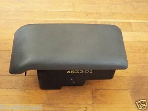 Original 1990-1991-1992 Eagle Premier ES Console Storage Box Lid & Armrest-Grey]
