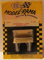 Aurora K&B Brass Motor Mount for Pittman 704, #1101 MOC