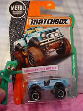 2017 Matchbox INTERNATIONAL SCOUT 4X4  #116☆Blue☆EXPLORERS☆case l/m
