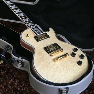 Guitar factory customized electric guitar high quality wood color Fast Delivery