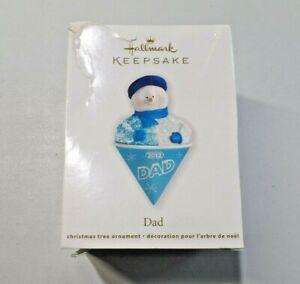 Hallmark Keepsake Ornament DAD Dated 2012 NEW Cullen Brown Artist