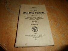 cours de machines marines par J. Sénéchal en 1959 (150)
