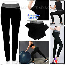 50x Women Yoga Pants Ladies Fitness Leggings Running Gym Exercise Sports Trouser