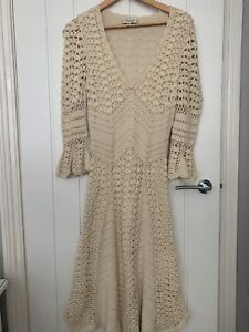 Temperley Crochet Dress Size 10