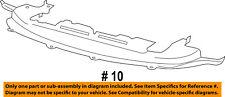 2011-16 DODGE Journey Front Bumper Air Deflector CENTER 68087244AA